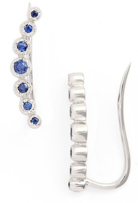 Women's Bony Levy Gemstone Ear Crawlers (Nordstrom Exclusive) $625 thestylecure.com