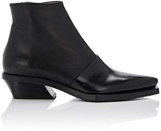 Proenza Schouler Women's Layered-Leather Ankle Boots