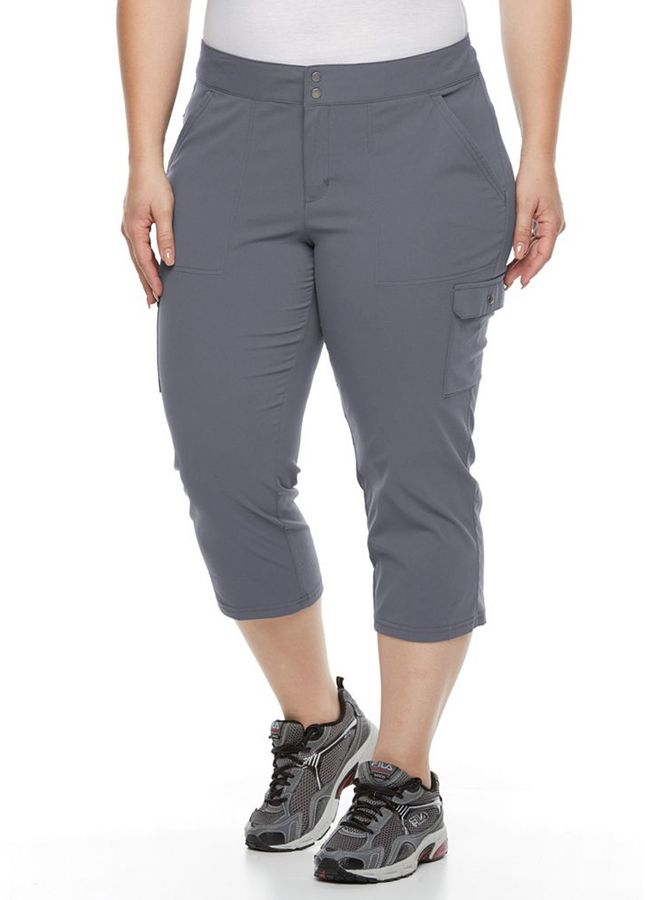 Columbia Plus Size Columbia Zephyr Heights Woven Capris