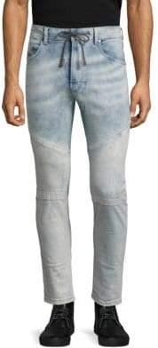 Diesel Narrot Slim-Fit Paneled Jeans