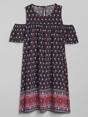 Gap Cold-Shoulder Dress