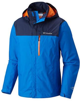 Columbia Pouration Hooded Waterproof Jacket