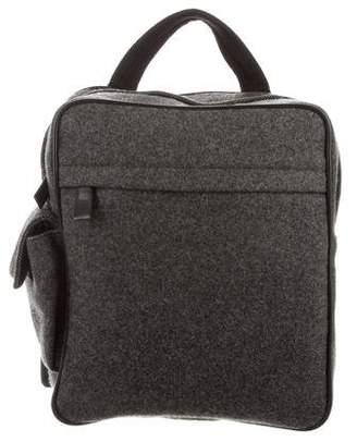 Prada Wool Sling Backpack