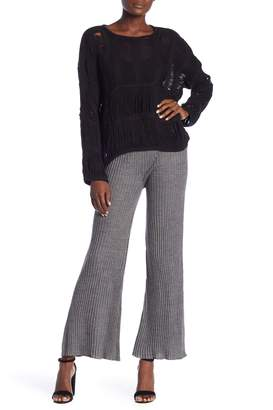 Moon River Solid Knit Pants