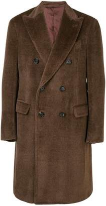 Lardini classic double-breasted coat