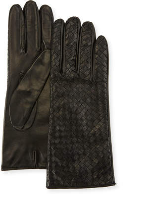 Portolano Woven Napa Leather Gloves