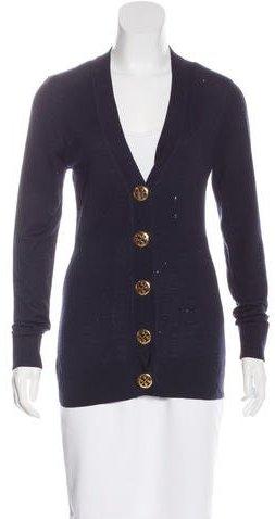 Tory BurchTory Burch Wool Long Sleeve Cardigan