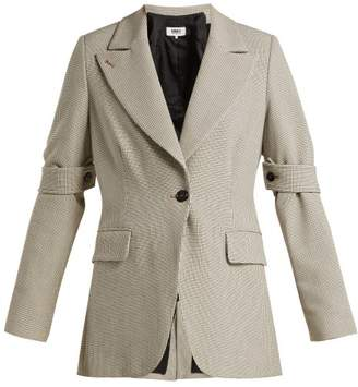 MM6 MAISON MARGIELA Checked Jersey Jacket - Womens - Beige Multi