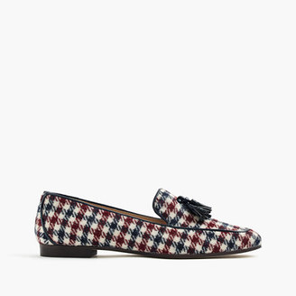 Charlie tassel loafers in tweed $188 thestylecure.com
