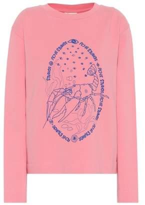 Acne Studios Oslavi E Crayfish cotton sweatshirt