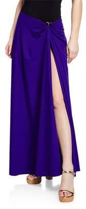 Chiara Boni Rodeia Coverup Wrap Skirt