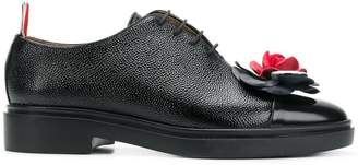 Thom Browne Pebble & Calf Leather Top Cap Shoe