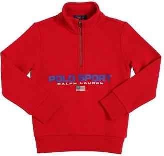 Ralph Lauren Printed Cotton Blend Sweatshirt