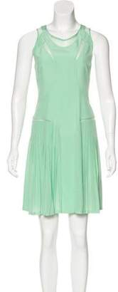 Victoria Beckham Victoria, Silk Pleated Dress