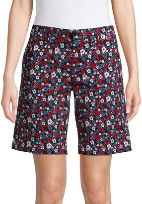 Tommy Hilfiger Floral Stretch Shorts