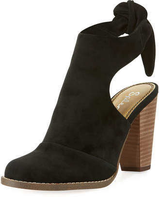 Splendid Danae Knotted Open-Back Booties