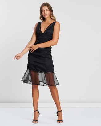 Atmos & Here Ollie Organza Midi Dress