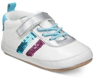 Robeez ro + me by Baby Girls Sequin Athletic Shoes