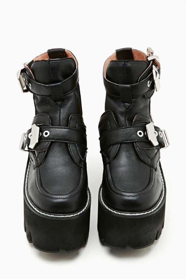Nasty Gal Jeffrey Campbell Asylum Platform Boot