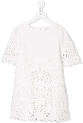 Stella McCartney floral cutout shift dress