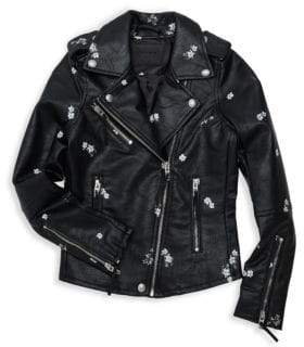 Blank NYC Girl's Moto Jacket