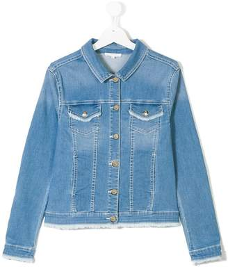 Chloé Kids stretch denim jacket