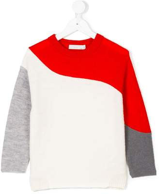 Stella McCartney block colour sweater