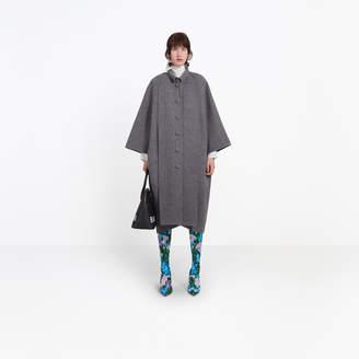 Balenciaga Wool kimono shaped coat