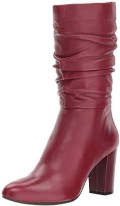Anne Klein Women's NYSHA Leather Fashion Boot