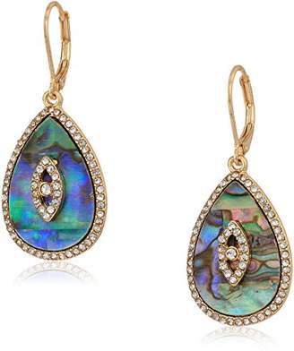 lonna & lilly Gold-Tone and Crystal Drop Earrings