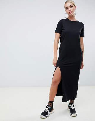 Asos Design DESIGN ultimate t-shirt maxi dress