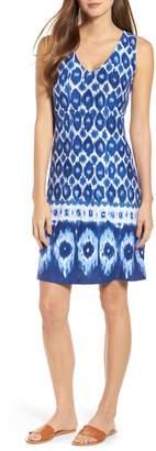Tommy Bahama Innercoastal Ikat Sleeveless Dress