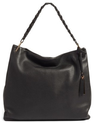 Vince Camuto Ruedi Leather Tote - Black $278 thestylecure.com