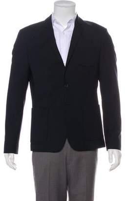 AllSaints Wool Notch-Lapel Blazer