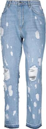Silvian Heach Denim pants - Item 42727720EB
