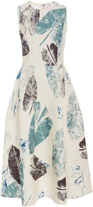 Carolina Herrera Sleeveless Knee Length A Line Dress