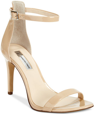 INC International Concepts Women's Roriee Two-Piece Sandals, Only at Macy's $89.50 thestylecure.com