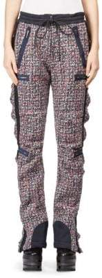 Sacai Alpaca Wool Tweed Pants