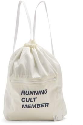 Satisfy Cult member mesh gym bag