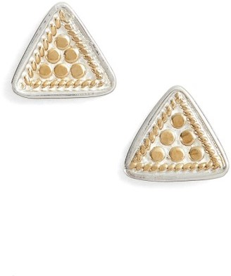 Women's Anna Beck Mini Triangle Stud Earrings $75 thestylecure.com