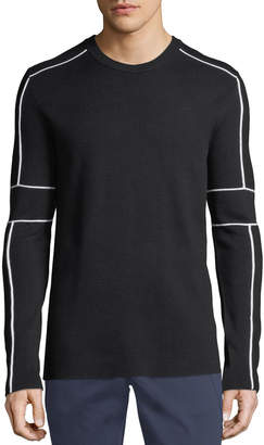 Karl Lagerfeld Men's Knit Crewneck Sweater