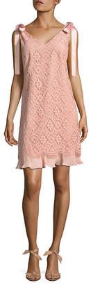 Nanette Lepore Nanette Diamond Lace Shift Dress