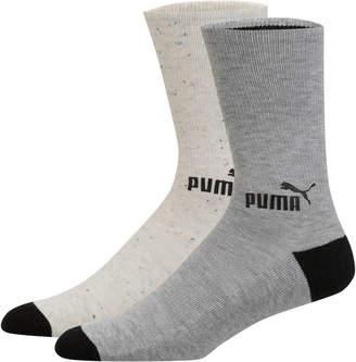 Mens Fashion Crew Socks (2 Pack)