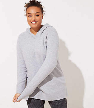 LOFT Plus Hooded Sweater