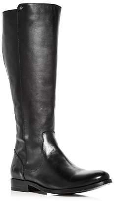 Frye Women's Melissa Stud Leather Extended Calf Tall Boots