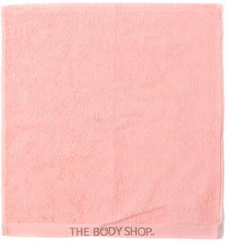 The Body Shop (ザ ボディショップ) - ザ・ボディショップ オーガニックコットンハンドタオル コーラル