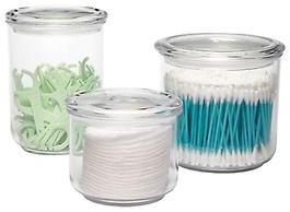 Container Store 14 oz. Acrylic Airtight Canister Clear