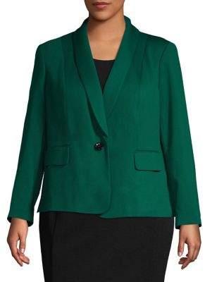 Nipon Boutique Plus Crossfront Shawl Jacket