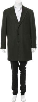 Suitsupply Wool Notch-Lapel Overcoat