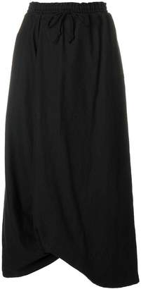 Y's high waisted asymmetric skirt